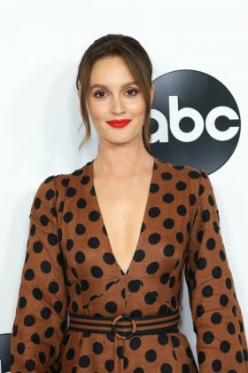 "Blair Waldorf a blonde?! Not in a million years! Well, believe it or not, it's true. Leighton Meester was born a blonde but died her hair for her star-making role in ""Gossip Girl."" Guess the producers didn't want her to compete with Blake Lively's golden locks. (Photo: WENN)"