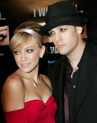 Does anyone remember when the Good Charlotte frontman Joel Madden (26) and Disney star Hilary Duff (16) began dating in the mid 2000's? Despite their 10-year age gap, the two were together for over two years. (Photo: WENN)