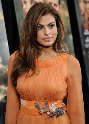 "Speaking of her sobriety, Eva Mendes said: ""I'm proud of people who have the determination and the fearlessness to actually go and face their demons and get better. This is a life or death situation."" (Photo: WENN)"