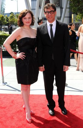 "Eight months after tying the knot, Elisabeth Moss filed for divorce from SNL cast member Fred Armisen in 2010. The pair embarked on a whirlwind romance, marrying after dating for one year. ""I think I was a terrible husband,"" he accepted. (Photo: WENN)"