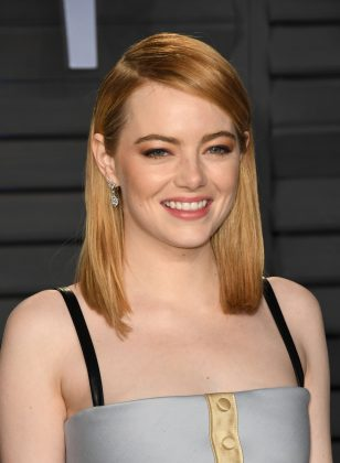 "Emma Stone and Dave McCary started dating in late 2018. The two met when she hosted SNL and starred in the December sketch ""Wells for Boys,"" which he directed. (Photo: WENN)"