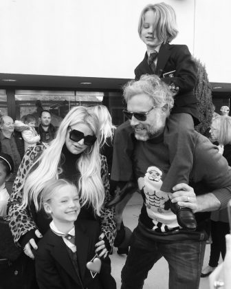 Jessica Simpson will welcome her third child with husband Eric Johnson next year. Simpson has already revealed that baby number three is a girl. (Photo: Instagram)