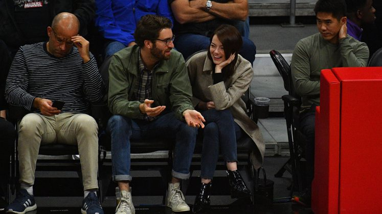 Despite being so private, Dave and Emma made a rare public outing earlier this month. The couple watched the Golden State Warriors face off against the Los Angeles Clippers, a sweet confirmation that the two are going strong! (Photo: WENN)