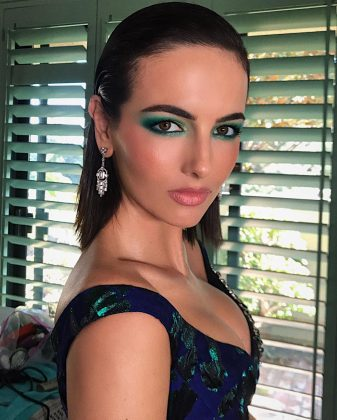 Camilla Belle easily won best beauty look of the night. (Photo: Instagram)