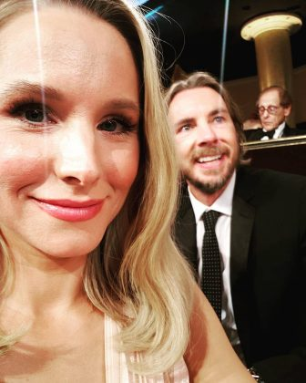 Kristen Bell couldn't help but fangirl over husband Dax Shepard and it fives us all the feels. (Photo: Instagram)