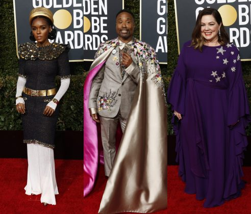 Keep scrolling to see who tragically failed to win the title of the best dressed at the Golden Globes 2019 red carpet. (Photo: WENN)