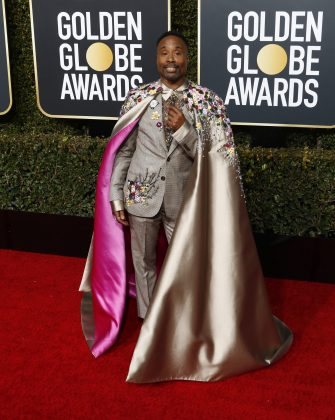 This is Billy Porter. Needless to say, he's a bit shy. (Photo: WENN)