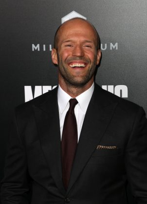 Jason Statham shaved his head after his hairline began to recede years ago. Still, he managed to marry the beautiful Rosie Huntington-Whitley. (Photo: WENN)