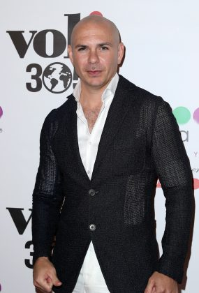 Pitbull is the ultimate charmer and need to hair to be it! Mr. Worldwide rocks the bald look like no other in the music industry. (Photo: WENN)