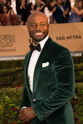 "Taye Diggs shaved his head before it started receding. ""As soon as I saw those corners inching towards the back of my head, I took it all off."" (Photo: WENN)"