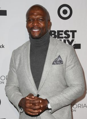 The bald look sits Terry Crews so well that even though he isn't naturally bald, he chooses to shave his head every day. (Photo: WENN)