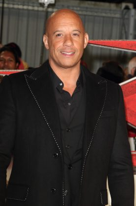 Vin Diesel is the ultimate bald celebrity in the entertainment world—and he's also one of the hottest guys in the business. (Photo: WENN)