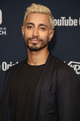 """Riz Ahmed at the 2018 San Diego Comic con """"Spider-Man: Into the Spider-Verse"""" photocall. (Photo: WENN)"""