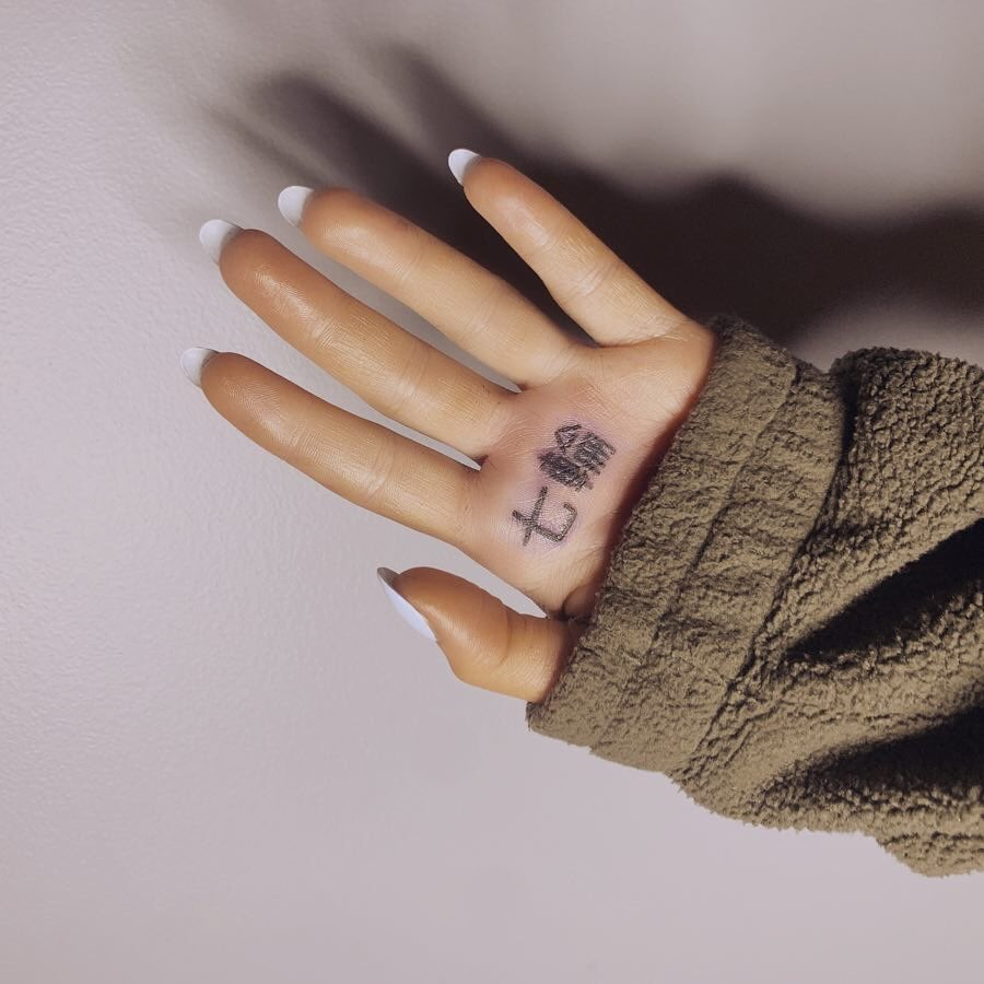 ariana grande's and 10 other misspelled celebrity tattoos - jetss