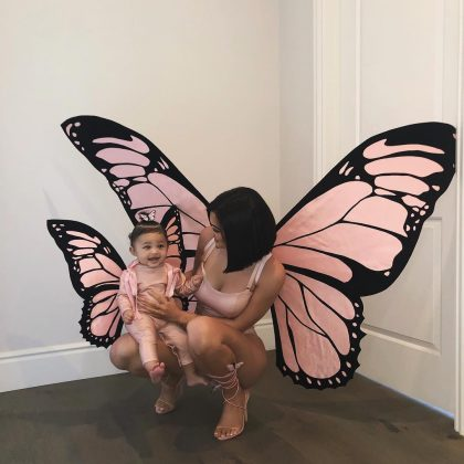 A second time on the list already! With 11,885, 172 likes, this adorable photo of Kylie and Stormi's matching butterfly costumes made it to the most liked Instagrams Of 2018. (Photo: Instagram)