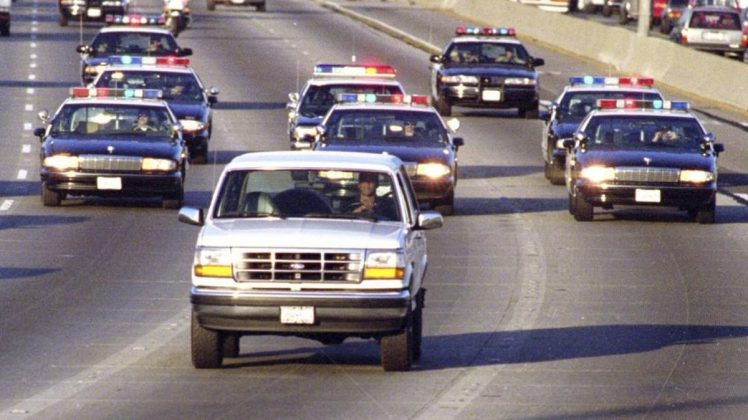 It's been 25 years since O.J. Simpson declined to turn himself in after becoming a suspect on the killings Nicole Brown Simpson and Ron Goldman in June 1994 and instead fled town in a white Ford Bronco. (Photo: WENN)