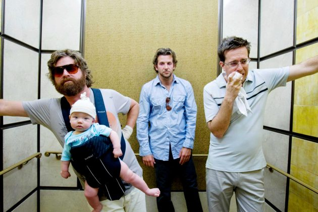 "Almost 10 years ago on June 5, ""The Hangover"" hit theaters. The R-rated comedy became the 10th-highest earning film of 2009 with a worldwide gross of over $476 million and the second-highest grossing R-rated comedy ever in the U.S. (Photo: WENN)"