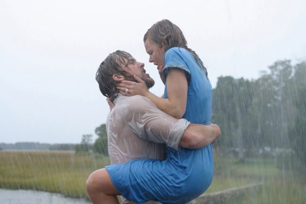 "It's been nearly 15 years since Ryan Gosling and Rachel McAdams stared in the romance movie ""The Notebook,"" based on the Nicholas Sparks book of the same name, which hit theaters in June. The movie. (Photo: WENN)"