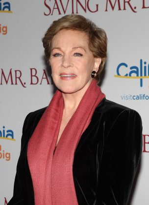 Hathaway also confirmed actress Julie Andrews is on board with her. (Photo: WENN)