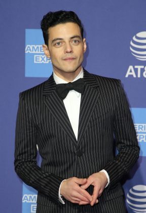 Rami Malek was awarded with the Breakthrough Performance Award at the Annual Palm Springs International Flim Festival. (Photo: WENN)