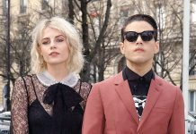 Rami Malek confirmed his relationship with Lucy Boynton. (Photo: WENN)