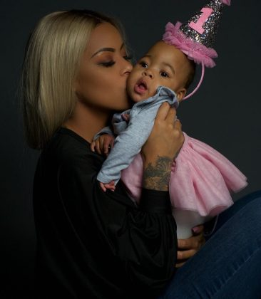 Alexis Skyy welcomed her daughter Aliya on January 4, 2018, 3 months before her due date. Aliya is said to be the daughter of Fetty Wap. (Photo: Instagram)