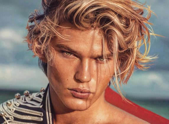 So who is Jordan Berrett, the man that Paris Hilton keeps falling for? Click through our photo gallery to learn 10 facts about the male fashion model of the moment. (Photo: Instagram)