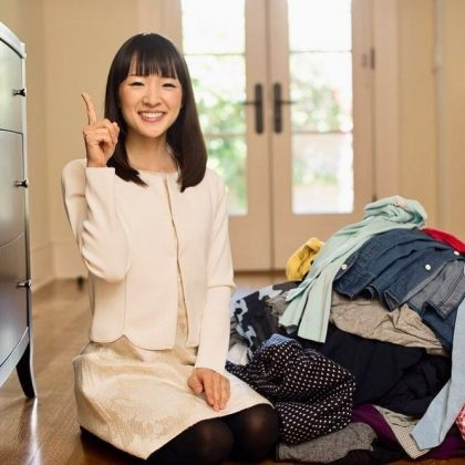 "Marie Kondo (secretly) loves clutter. Contrary to what you'd expect from ""the most organized woman in the world,"" clutter gest Kondo excited ""because it is a good feeling for me to imagine how this person can declutter."" (Photo: Instagram)"