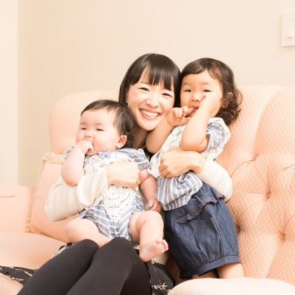 "She has two daughters. For all the moms out there attempting the KonMari method, Kondo says, ""it's okay to decide which of your child's items to keep and what to let go."" (Photo: Instagram)"