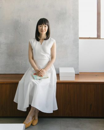 "Marie Kondo doesn't like pants. While shopping at Anthropologie's flagship location in Rockefeller Center, Kondo told The New Yorker that she doesn't wear pants because ""several years ago they stopped bringing her joy."" (Photo: Instagram)"