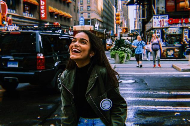She's a talented youngster. Rachel Zegler is a 17-year-old singer/songwriter and self-professed theater kid from New Jersey. She's a senior in high school! (Photo: Instagram)