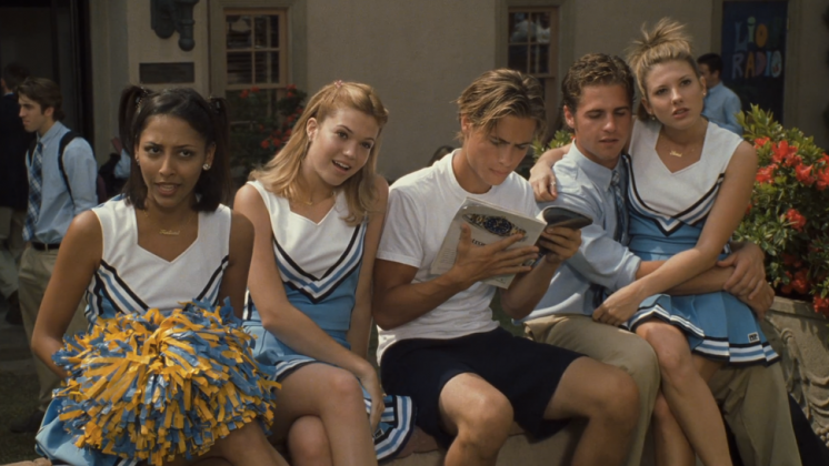 It exposes teen foibles and follies in a humorous light. There's the cute heartthrob, the mean cheerleader, the hardcore mom, and the supportive best friend. Exposing the weaknesses makes this film even more relatable! (Photo: Release)