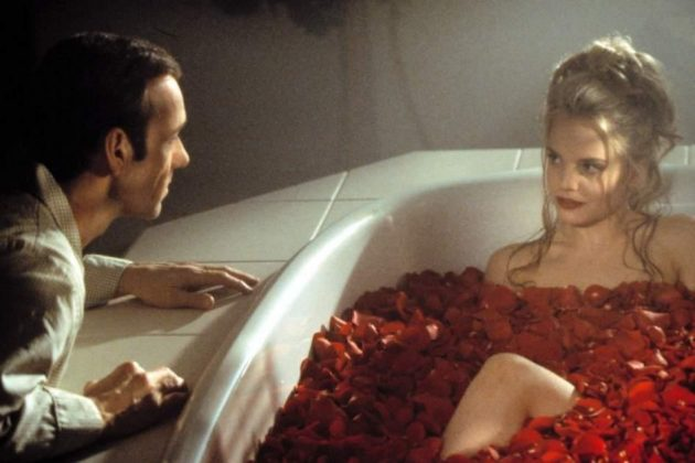 """American Beauty."" Watch Kevin Spacey throw it all away as he becomes obsessed with his teenage daughter's best friend. (Photo: Release)"