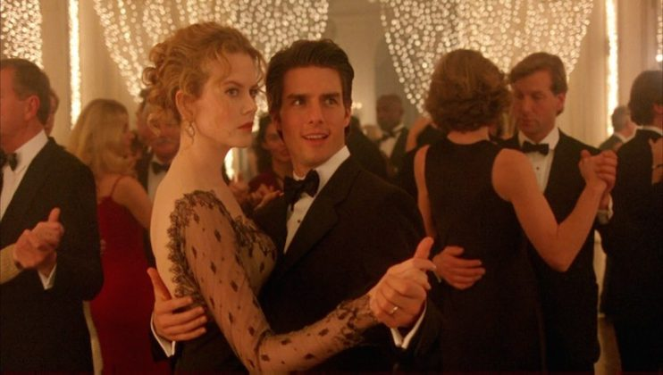 """Eyes Wide Shut."" If Kidman and Cruise's real-life love story isn't devastating enough, watch them struggle to save their troubled relationship on the big screen. (Photo: Release)"