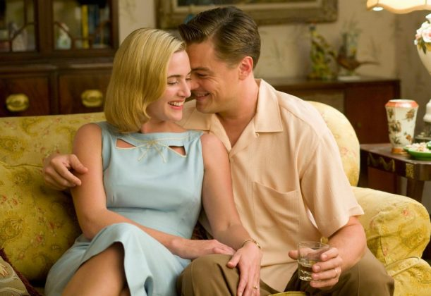 """Revolutionary Road."" This is not a ""Titanic"" reunion. But the film does happen to be just as tragic and equally depressing since this marriage is too a sinking ship. (Photo: Release)"