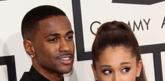 Ariana Grande and Big Sean were seen together for the first time since their breakup. (Photo: WENN)