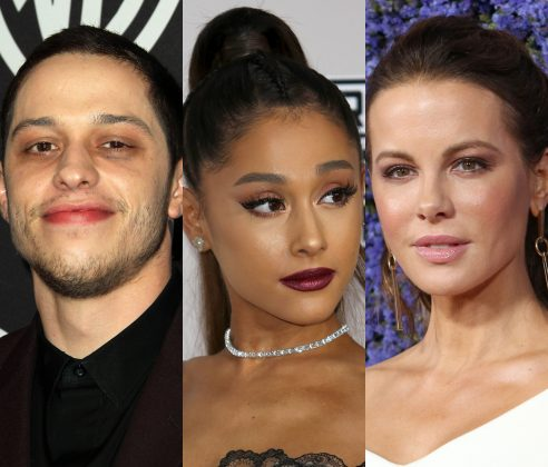 Ariana Grande approves of Pete Davidson and Kate Beckinsale being together. (Photo: WENN)