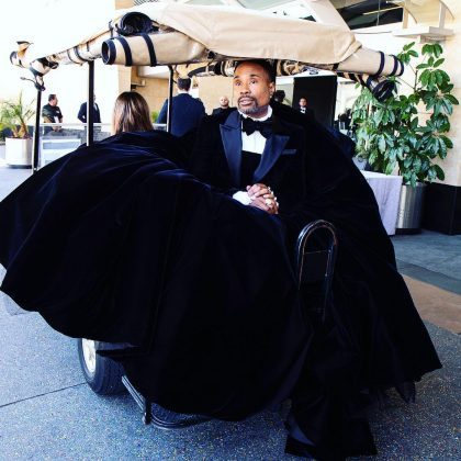 From now on you can call Billy Porter the Cinder-fella. (Photo: Instagram)