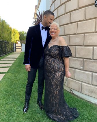 Michael B. Jordan brought his 'mama' along as his date, melting hearts in the process. (Photo: Instagram)