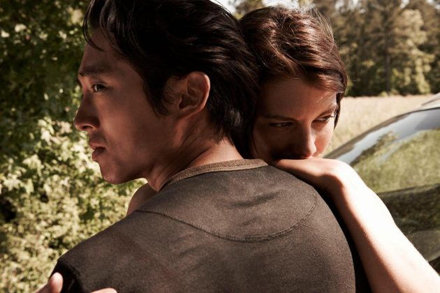 Sorry, Rick and Michone, but Glenn and Maggie are the absolute hottest couple in the zombie Apocalypse. (Photo: Release)