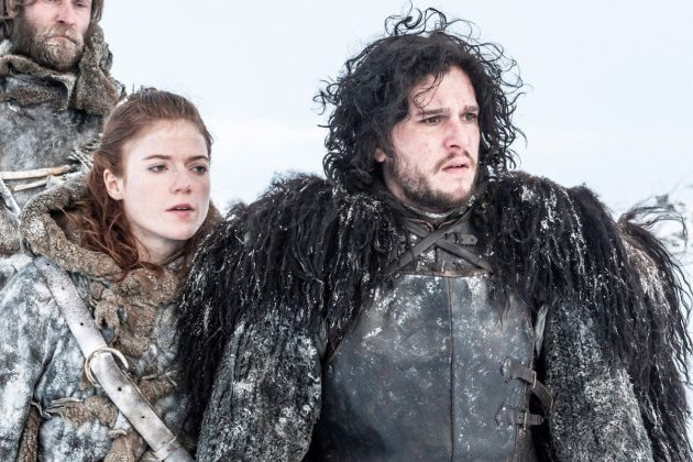 The best thing about Jon Snow and Ygritte is that while filming their romantic scenes, Harington and Leslie fell in love in real life! (Photo: Release)