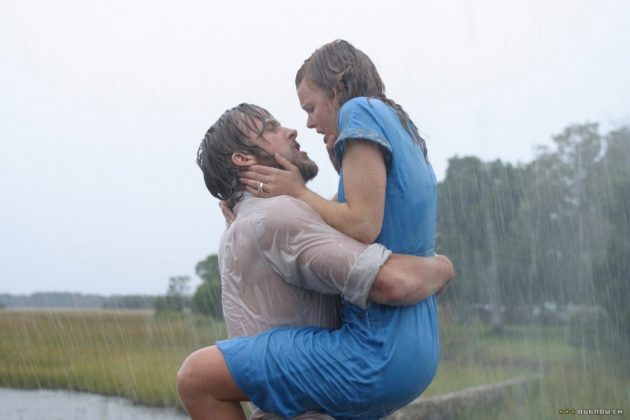 Regardless of their differences, Noah and Allie come together in love. Why, Nicholas Sparks, did you raise my expectations for love like this? (Photo: Release)