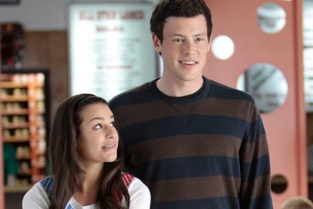 Leah Michele tragically loos her boyfriend Cory Monteith after he passed away of an overdose. But at least we'll always have Rachel and Finn! (Photo: Release)
