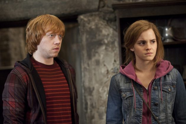 The signs were there from the beginning. It was written on the walls. So when Ron and Hermione finally got together, we were all relieved! (Photo: Release)