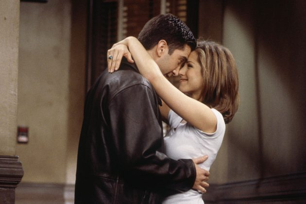 Rachel and Ross' love story was one for the ages. Or at least one that made 'Friends' the must-see TV show from 1994 to 2004. (Photo: Release)