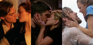 If you really want to get your smooch on, pucker up and check our 20 favorite kisses in pop culture history. (Photo: Release)