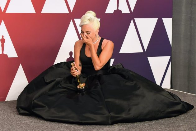 """I have worked hard for a long time and it's not about winning. What it's about is not giving up,"" said Lady Gaga after winning an Oscar for Best Original song. (Photo: Release)"