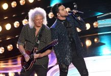 A host-less Oscars opened with Queen and Adam Lambert performing 'We Will Rock You' and 'We Are The Champions' honoring the late Freddie Mercury. (Photo: Release)