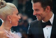 Find yourself someone that looks at you the way Lady Gaga and Bradley Cooper look at each other. (Photo: WENN)
