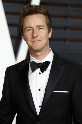 Surprisingly, Edward Norton, the method actor, doesn't have an Oscar, despite three nominations, most recently for 'Birdman'. (Photo: WENN)
